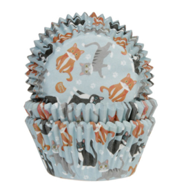 HoM   Baking Cups Katten pk/50
