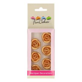 Funcakes | suikerfiguren rozen goud/8