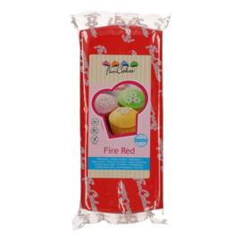 Funcakes | Fondant fire red 1kg