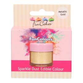 Funcakes | Metallic Gold Funcolours Sparkle Dust
