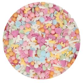Funcakes | Unicorn pastel  Sprinkle Medley 80g