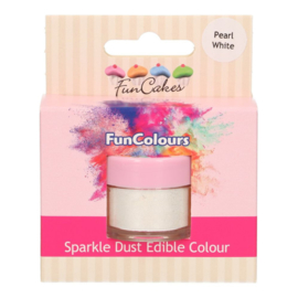 FunCakes | Pearl White Funcolours Sparkle Dust