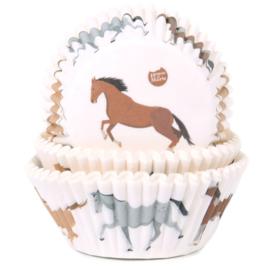 HoM   Baking cups paarden (pk/50) (Normaal)