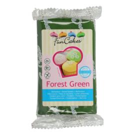 Funcakes | Fondant forest green 250
