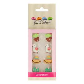 Funcakes | suikerfiguren alpaca /8