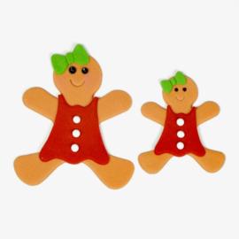 FMM | Gingerbread people uitsteker (set/4)