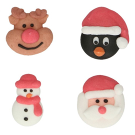 FunCakes | Suikerdecoratie Kerstmis (set/8)