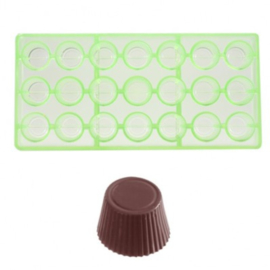 Chocolateworld Bonbonvorm cuvette rond