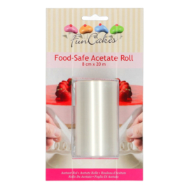 FunCakes | Food Safe Acetate Roll (8cmx20m)