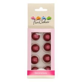 FunCakes | Chocoballetjes ruby Set/8