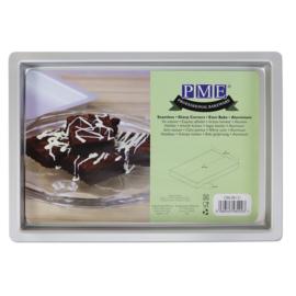 PME | Oblong browniepan 20.3x30.4x2.5cm