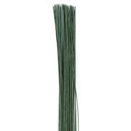 Culpitt | wires for Sugar Flowers Dark Green (20-22g)