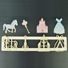 FMM   Fairytale Motifs (circa 3 x 4 cm)