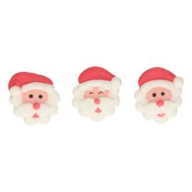 FunCakes   Suikerdecoratie Kerstman (set/8)
