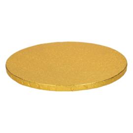 Funcakes | Cakedrum 25cm goud