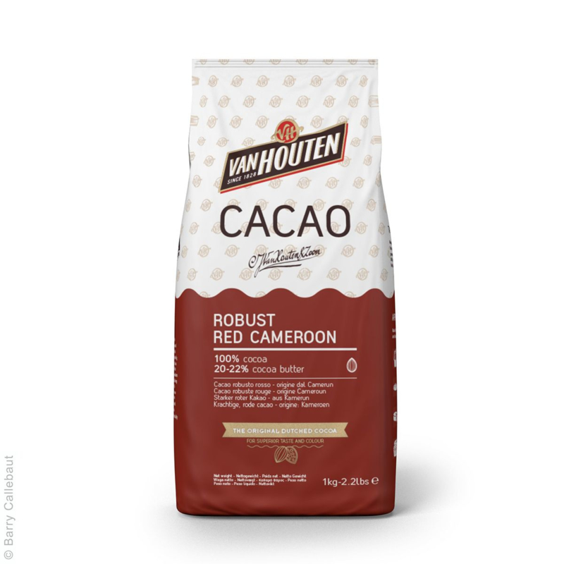 Van Houten | Red Cameroon Cacaopoeder