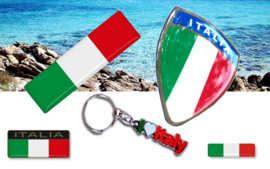 Stickerset Italië LUXE +  sleutelhanger