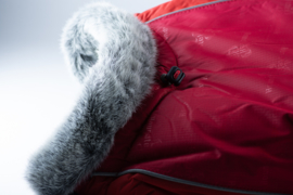 Hurtta winterjas, rood