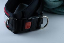 Hurtta halsband gevoerd zwart