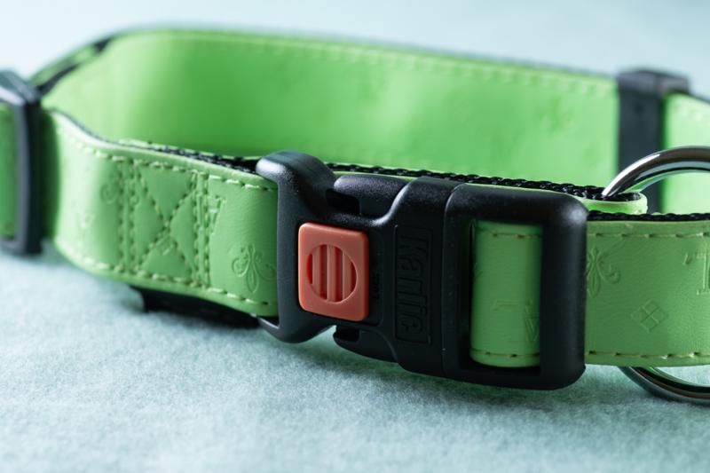 Karlie halsband groen