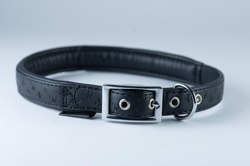 Karlie halsband zwart