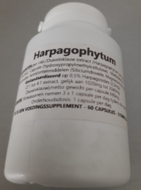 Duivelsklauw Tabletten 60st