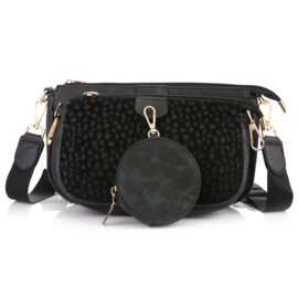 Tas Black Cheetah