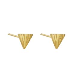 Oorbellen Animal Triangle