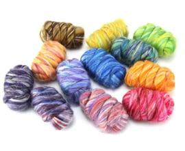 Constellationset wol met zijde 13 kleuren totaal 300 gram