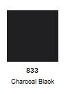 Naaldvlies Europese merino 140 cm breed per 10 cm charcoal black