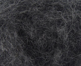 Corriedale donker grijs per 50 gram