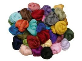 Kleurenset 45 kleuren 27 mic (ong 20 gram per kleur)