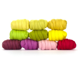 Voorjaar kleurenset 23 micron 10 kleuren a 25 gram per pakket