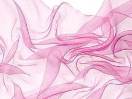 Chiffonzijde sjaal 180 x 55 cm lilaroze donker 14