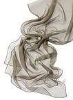 Chiffonzijde sjaal 180 x 55 cm khaki 28