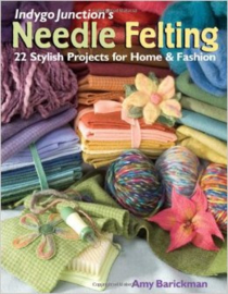 Needle felting - Amy Barickman per stuk  Engelstalig