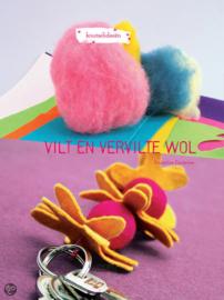 Wol en vervilte wol amandine Dardenne per stuk