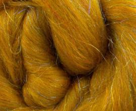 Glitter wol amber per 25 gram