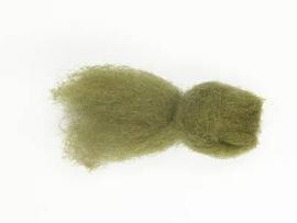 Australische merino vlies 21 mic bosgroen 25 gram
