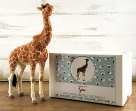 Naaldviltpakket Giraf Gino (engelstalig) per pakket