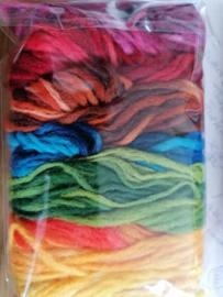 Wol voorgaren 7 kleuren 20 gram