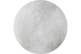 Schappe-zijde met fijne wol 50/50 % in vlies per 50 gram