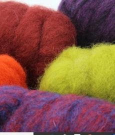 Corriedale kleurenset voor dieren - kleuren 5 * 25 gram