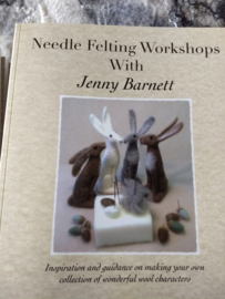 Needle Felting Workshops with Jenny Barnett per stuk  Engels talig boek