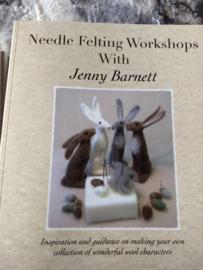 Needle Felting Workshops with Jenny Barnett per stuk  Engels talig boek
