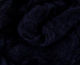 Tussahzijde dons per 10 gram zwart