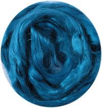 Moerbeizijde per 10 gram oceaanblauw