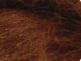 Alpaka kastanje bruin per 10 gram