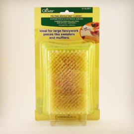 Clover borstelmat groot 13 * 8 cm per stuk