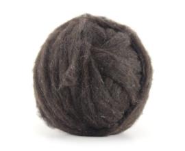 Welsh schaap wol in vlies in lontgetrokken per 50 gram